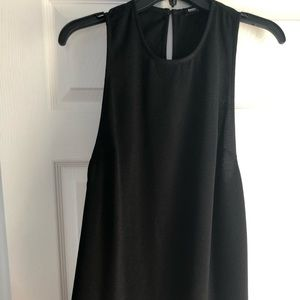 American Apparel Black Mini Dress